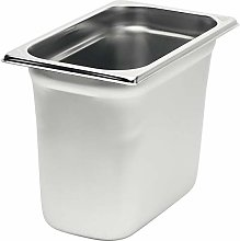 Rieber 84013031 GN Container, Stainless Steel