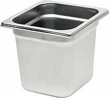 Rieber 84013041 GN Container, Stainless Steel