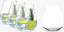 RIEDEL Stemless It's Always Gin O'Clock