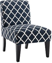 Riegelsville Cocktail Chair Blue Elephant