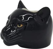 Rigby & Mac - Hand Painted Panther Egg Cup By Quail