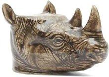 Rigby & Mac - Hand Painted Rhino Egg Cup By Quail