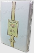 Single Flat IVORY CREAM Riggs Premium Brushed Cotton Sheets flannelette