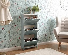 Right Deals UK Bergen Modern Wooden Tiered Hallway