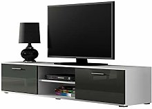 Right Deals UK High Gloss TV Cabinet Stand
