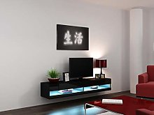 Right Deals UK High Gloss TV Stand Cabinet with
