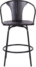 Rigsby Swivel Bar Stool Corrigan Studio