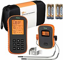 riida Wireless Meat Thermometer with Timer Alarm
