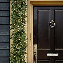 Rikay Christmas Tree Lights Christmas Garland With