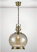 Riley Single Large Ball Pendant Light 1 Bulb E27