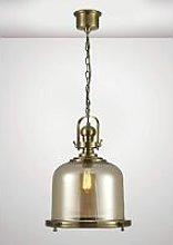 Riley Single Large Bell Pendant Lamp 1 Bulb E27
