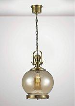 Riley Single Medium Ball Pendant Light 1 Bulb E27