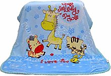 Rinalay Cartoon Smooth Flannel Blankets Kids