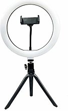 Ring Light, LED Ring Light with Tripod Stand &