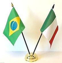Rio Olympic Games 2016 Brazil & Italy Friendship