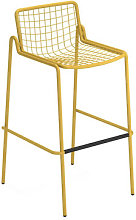 Rio R50 Stackable bar stool - / H 74 cm - Metal by