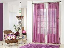 Rioma Brisa Curtain Purple and Purple 200 x 270 cm