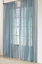 Rioma Brisa Plain Polyester Curtain 200 x 270 cm