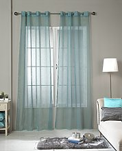 RIOMA Jerez ollados Curtain Voile, Fabric,