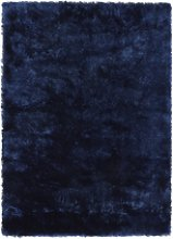 Ripley Glamour Rug in Dark Blue with Shimmer -