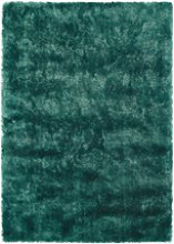 Ripley Glamour Rug in Forest Green with Shimmer -