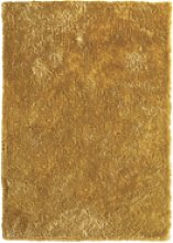 Ripley Glamour Rug in Ochre with Shimmer -