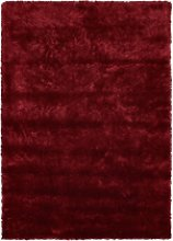 Ripley Glamour Rug in Red with Shimmer - 170x120cm