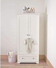 Ripley Nursery Wardrobe - White