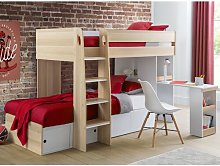 Ritchie Single Bunk Bed Isabelle & Max Colour: