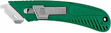 Riteknife - S4 R/H SPRING BACK SFT CUTTER - Green