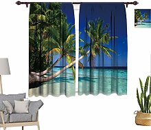 RityoDecor Tropical Window Curtains, Exotic