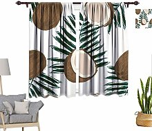 RityoDecor Tropical Window Curtains, Tropical