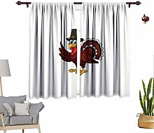 RityoDecor Turkey Window Curtains, Comic Character