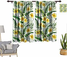 RityoDecor Watercolor Window Curtains, Pattern