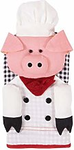 Ritz 19404 Oven Mitt, Cotton, Chef Pig