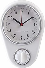 Riva776Yale Retro Kitchen Wall Clock with Timer