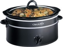 Rival SCV400KB Designer Crock Pot Black & Chrome