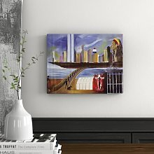 River of Babylon - Wrapped Canvas Art Print
