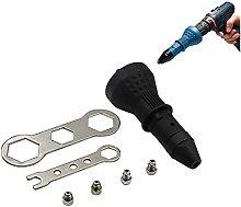 Rivet Gun for Cordless Drill, 4EVERHOPE Electric