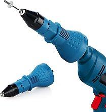 Rivet Gun for Cordless Drill Electric - Electric