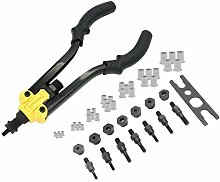 Rivet Gun Nut Tool Kit Rivet-Nut Insert Threaded
