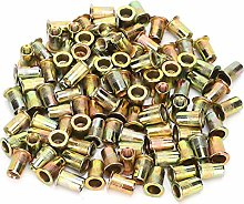 Rivet Nuts, 200Pcs Rivet Nut, Rivet Nut Tool Rivet