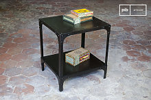 Riveted small side table