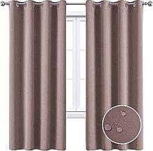 RIYIFER Outdoor Patio Curtains Waterproof Outdoor