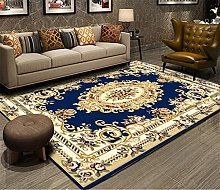 RJIANRA Rugs Living Room Large European Blue 3D