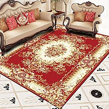 RJIANRA Rugs Living Room Large Red European 3D