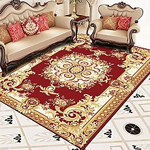 RJIANRA Rugs Living Room Large Red Vine 3D Heavy