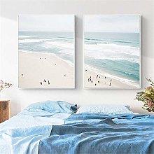 Rjjwai Aerial Beach Poster Ocean Print Seascape