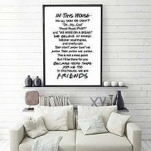 Rjjwai Friends Quotes Tv Poster Friends Tv Show in