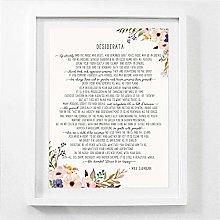 Rjjwai Max Ehrmann Poem - Desiderata Art Poster